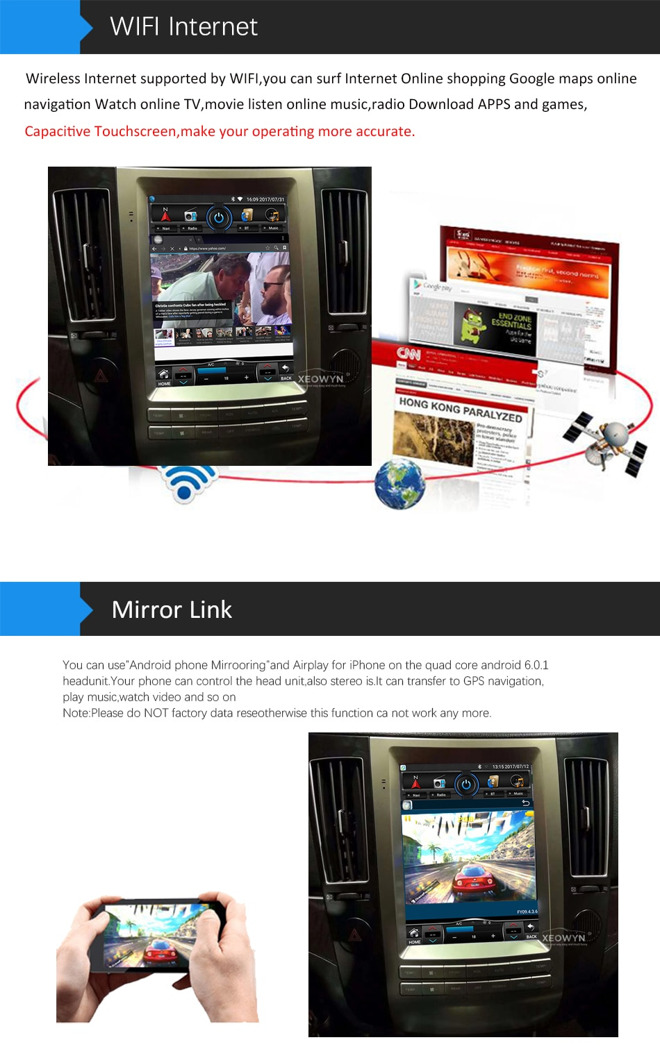 4-wifi and mirror