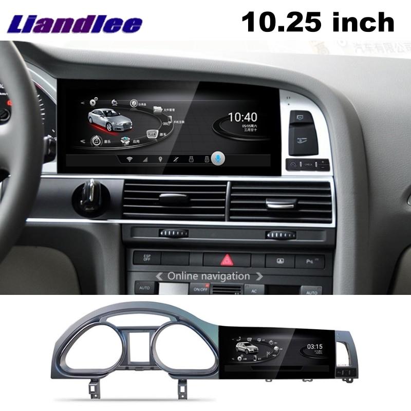 Liandlee Car Multimedia Player NAVI For Audi Q7 4L V12 2005~2015 Car System Radio Stereo CarPlay Adapter GPS Screen Navigation 16