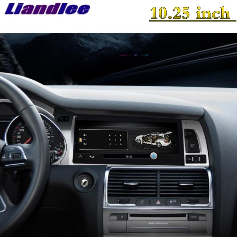 For Audi Q7 4L V12 TDI 2005~2015 Liandlee Car Multimedia Player NAVI Original Car System inch Radio Stereo GPS Screen Navigation 12