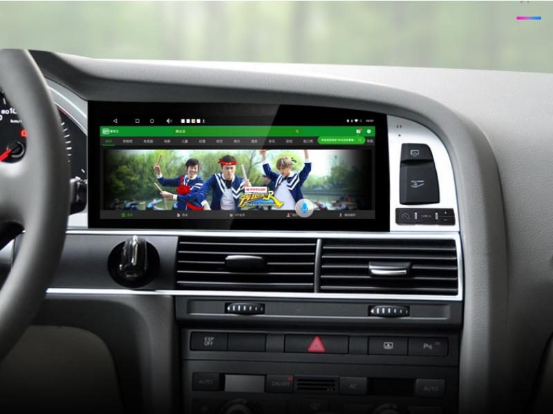 Liandlee Car Multimedia Player NAVI For Audi Q7 4L V12 2005~2015 Car System Radio Stereo CarPlay Adapter GPS Screen Navigation 9