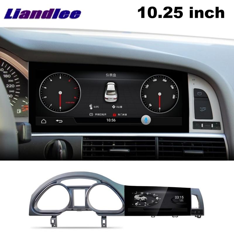 Liandlee Car Multimedia Player NAVI For Audi Q7 4L V12 2005~2015 Car System Radio Stereo CarPlay Adapter GPS Screen Navigation 12