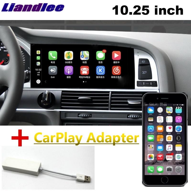 Liandlee Car Multimedia Player NAVI For Audi Q7 4L V12 2005~2015 Car System Radio Stereo CarPlay Adapter GPS Screen Navigation 15