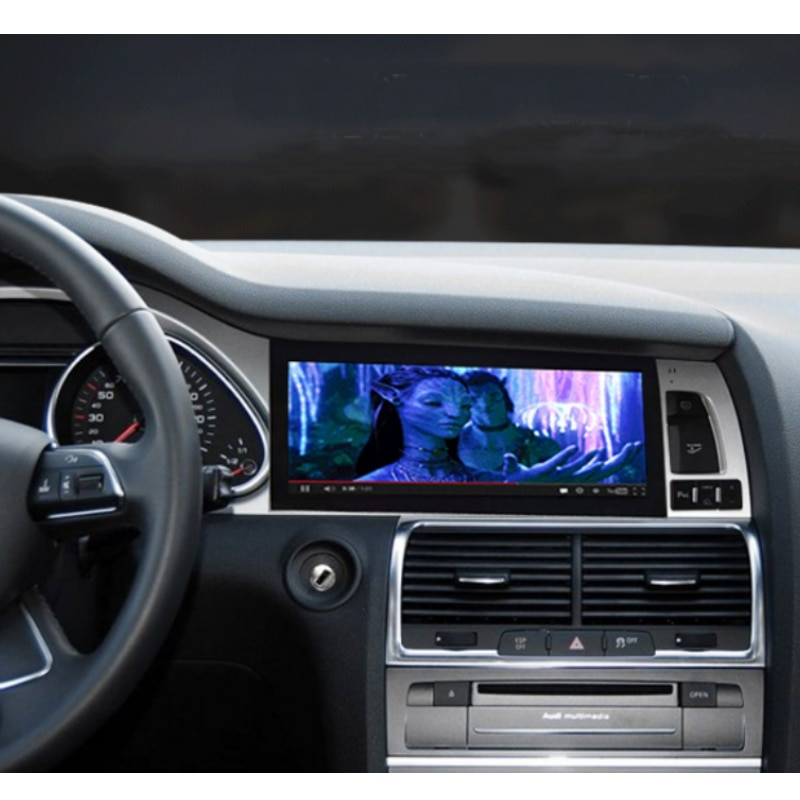 Liandlee Car Multimedia Player NAVI For Audi Q7 4L V12 2005~2015 Car System Radio Stereo CarPlay Adapter GPS Screen Navigation 8