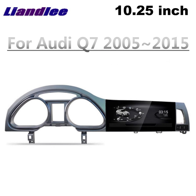 Liandlee Car Multimedia Player NAVI For Audi Q7 4L V12 2005~2015 Car System Radio Stereo CarPlay Adapter GPS Screen Navigation 4