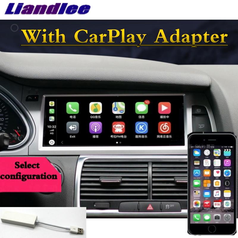 For Audi Q7 4L V12 TDI 2005~2015 Liandlee Car Multimedia Player NAVI Original Car System inch Radio Stereo GPS Screen Navigation