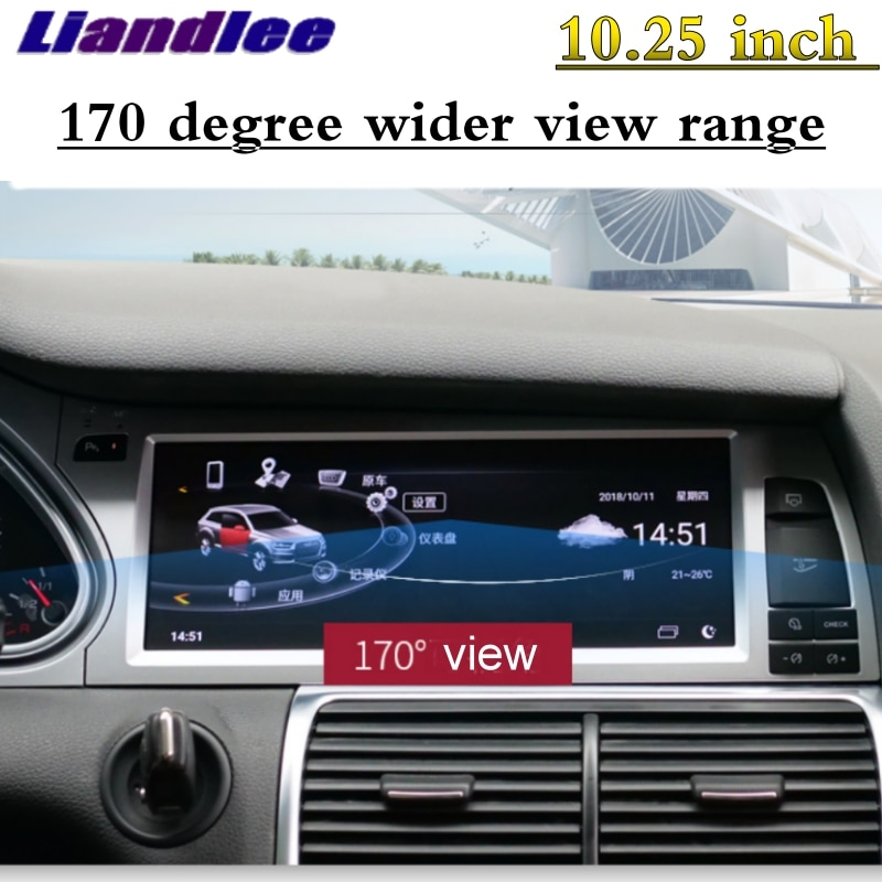 For Audi Q7 4L V12 TDI 2005~2015 Liandlee Car Multimedia Player NAVI Original Car System inch Radio Stereo GPS Screen Navigation 14
