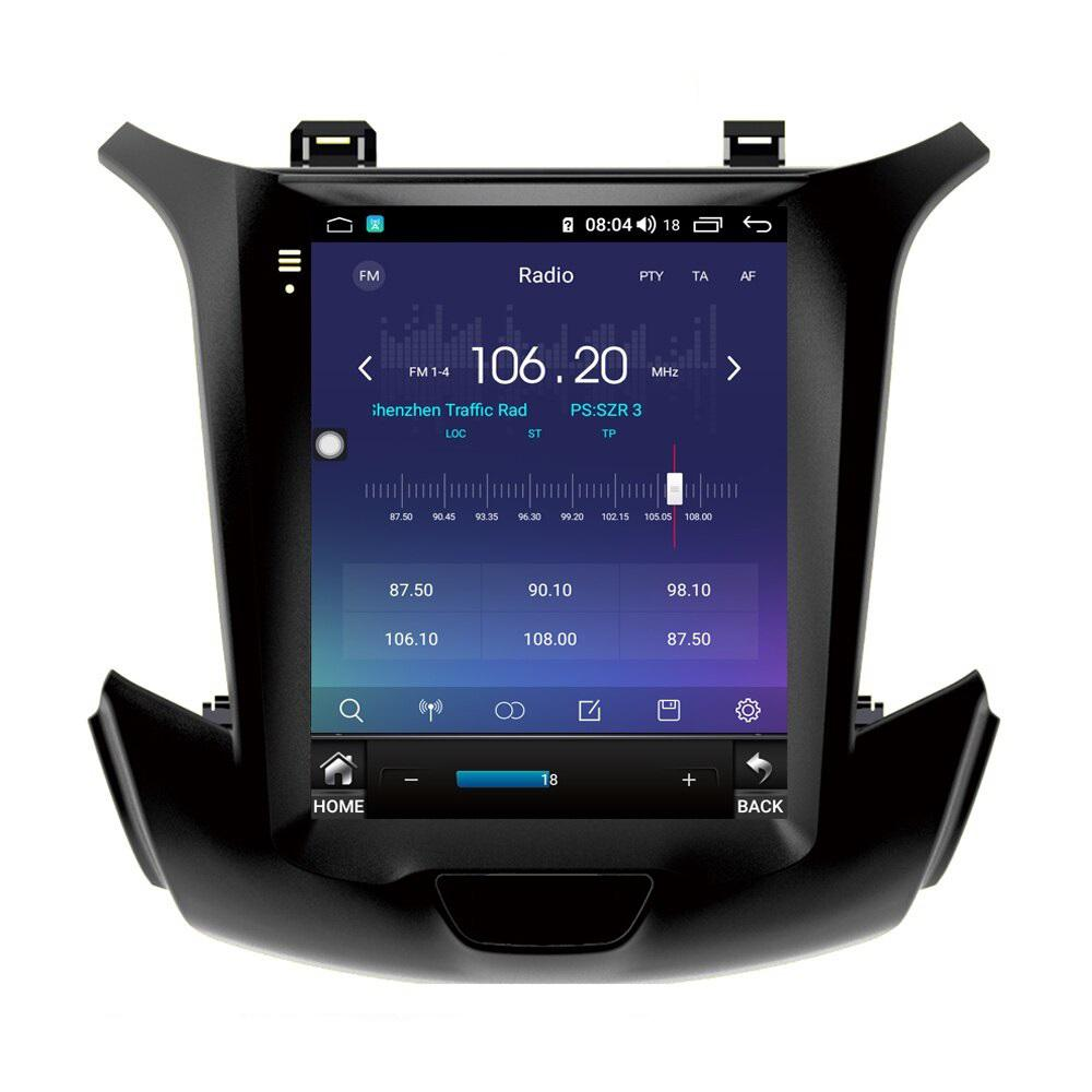 Tesla Vertical Style Android Car Radio for Chevrolet Cruze 2015-2021 PX6 4GB