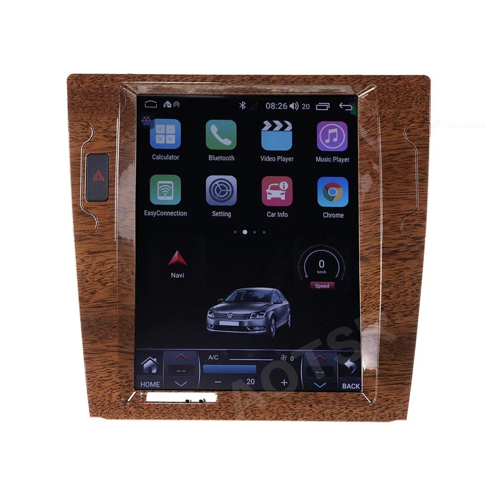 Tesla Vertical Style Android Car Radio for Volkswagen Phaeton 2003-2013 PX6